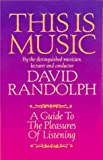This Is Music, David Randolph, 0887391109