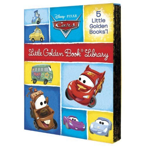 Cars Little Golden Book Library: Cars/Cars 2/Mater and the Ghost Light/Look Out for Mater!/Tractor Trouble (Disney/Pixar: Cars) by RH Disney (Corporate Author) (7-Aug-2012) Hardcover