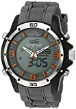 U.S. Polo Assn. Sport Men's Quartz Metal and Rubber Casual Watch, Color:Grey (Model: US9536)