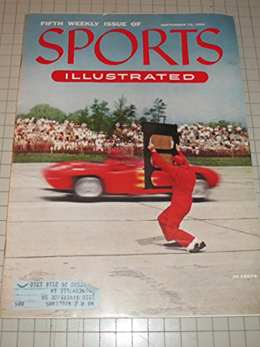 orts Illustrated Magazine - Fifth Issue with Ferrari Racing Cover - Grand Prix - Baseball's Johnny Antonelli - Boxers Rocky Marciano & Ezzard Charles ()