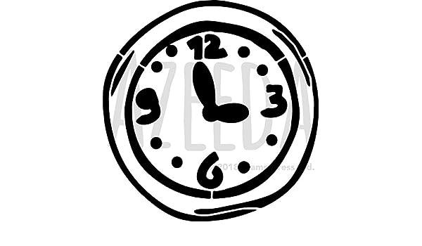 A3 Reloj de Pared Plantilla de Pared / Estarcir (WS00030814): Amazon.es: Juguetes y juegos