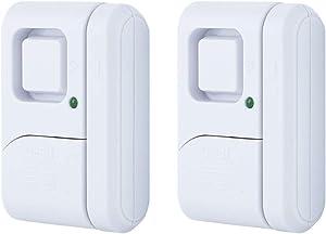 GE 45115 0 Personal Security Window/Door Alarm, 2-Pack, White, 2 Count