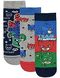 PJ Masks Boys' Catboy Owlette Gecko Socks Pack of 3