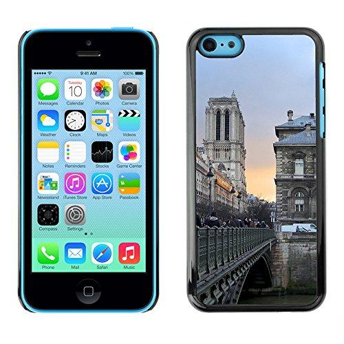 Premio Sottile Slim Cassa Custodia Case Cover Shell // F00008812 pont piétonnier // Apple iPhone 5C