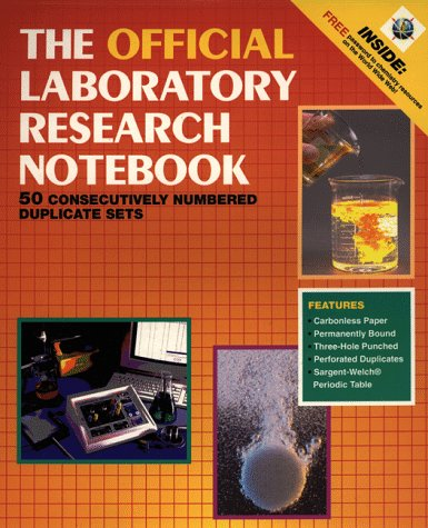 The Official Laboratory Research Notebook (50 duplicate...