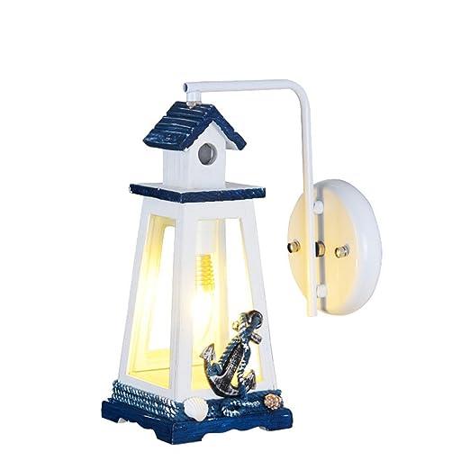 Z&MDH Mediterranean lighthouse wall lamp, children's room