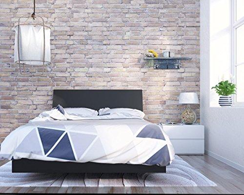 Nexera Orca 3 Piece Full Size Bedroom Set Black & White ()
