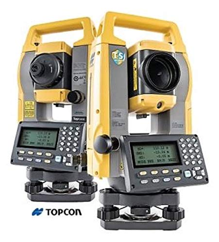 "Topcon GM-55, 5"" Reflectorless Total Station w/Laser Plummet, Bluetooth, Single Display"