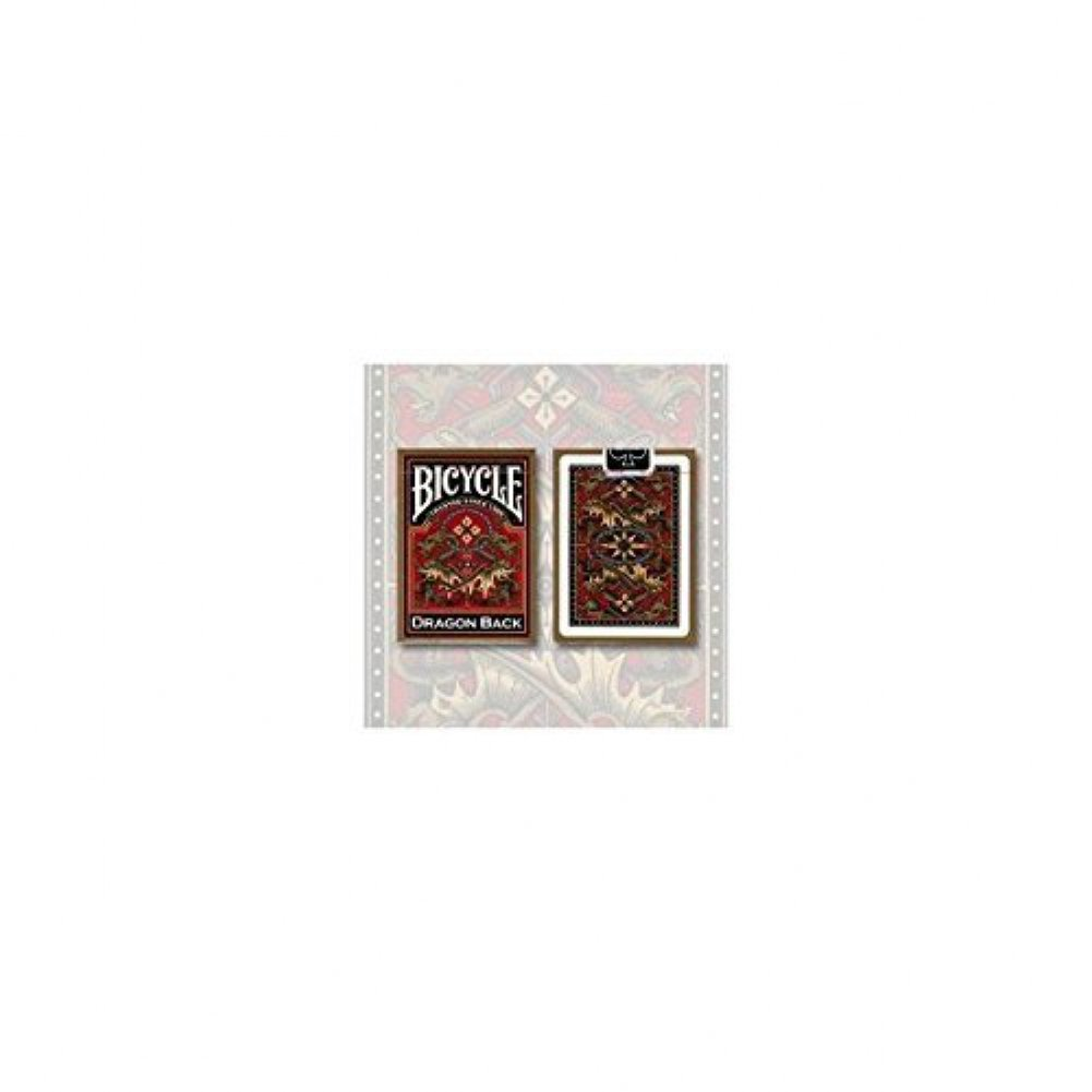 Bicycle Dragon Back Cards (gold) Magie