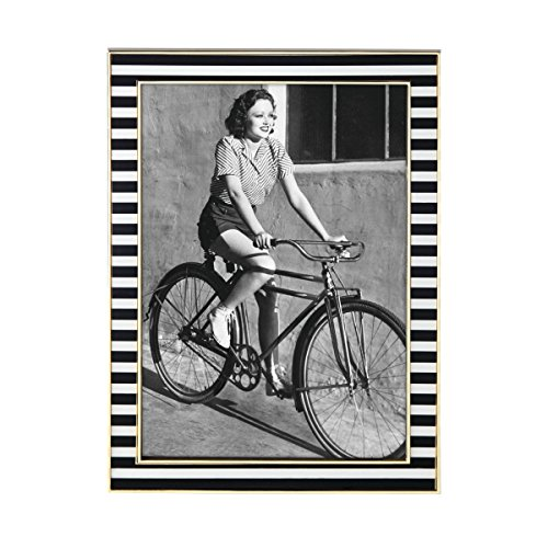 - Kate Spade New York Everdone Lane 5x7 Photo Picture Frame, Gold-Plated Metal