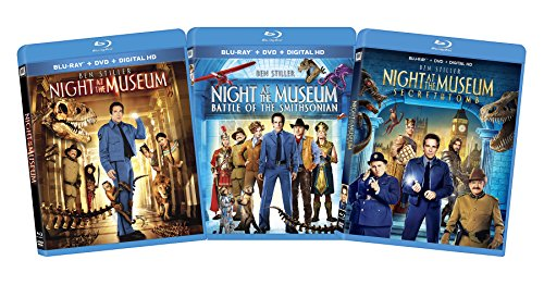 Night at the Museum 1-3 Bundle [Blu-ray]