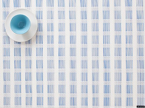 """Chilewich Stich Placemat in Lake 14"""" X 19"""""""