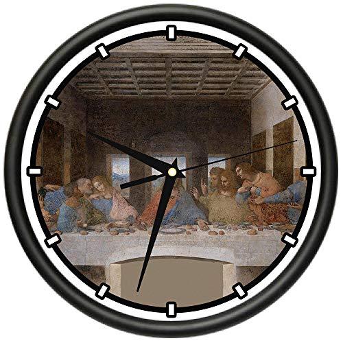 (Last Supper Design Wall Clock | Precision Quartz Movement | Décor for School Class Office Bedroom Decoration)