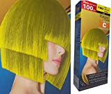 Bleaching Hair Orange - Y/Mix Premium Permanent Hair Color Cream Dye YELLOW Punk Goth XXL (equals 2 Dye Boxes !)