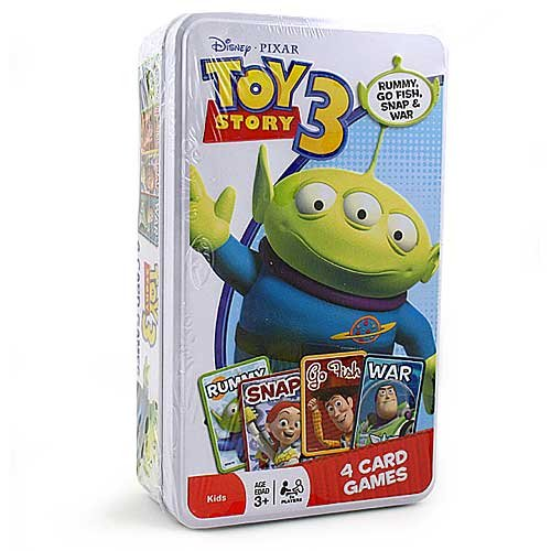 (Disney / Pixar Toy Story 3 Tin of 4 Card Games)