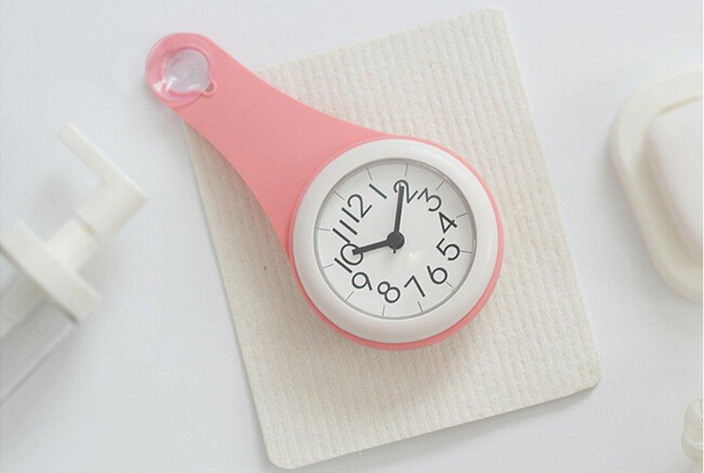 Amazon De Clocklina Einfache Personlichkeit Badezimmer Uhr Kuche