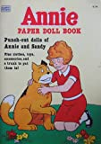 Little Orphan ANNIE PAPER DOLL BOOK (UNCUT) w Punch Out Annie & Sandy Dolls (1982)