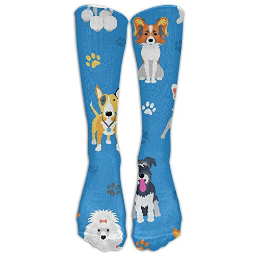 Shepherd, Little Dog, French Bulldog, Athletic Tube Stockings Women's Men's Classics Knee High Socks Sport Long Sock One Size