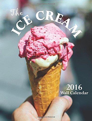 ice cream calendar 2015 - 2