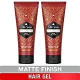 Old Spice, Hair Gel for Men, Low Shine, High Hold, Matte Finish, Swagger, 6.7 oz, Twin Pack
