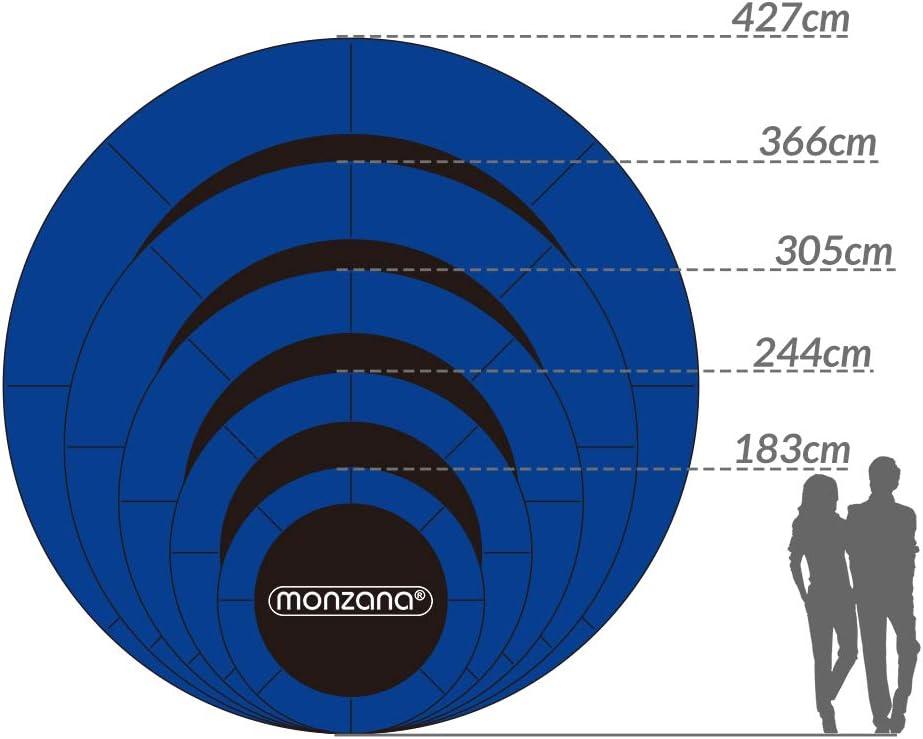 Monzana Coussin de Protection des Ressorts pour Trampoline 244cm 305cm 366cm 426cm