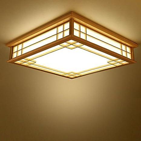 35CM LED cálida luz Plafón Lámpara MEIHOME madera de techo l1F3KTJc