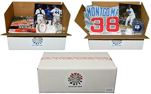 Chicago Cubs 2016 World Champs Mystery Autograph & Collectibles Gift Pack - Series 3 (Limited to 250) from Schwartz Sports Memorabilia