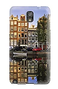 Valerie Lyn Miller Galaxy Note 3 Hybrid Tpu Case Cover Silicon Bumper Amsterdam City
