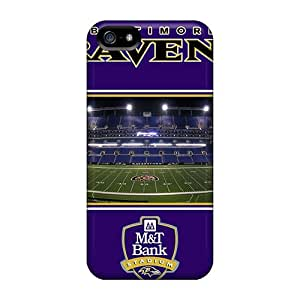 Iphone 5/5s IiU8415GYgo Customized Trendy Baltimore Ravens Pictures Shock Absorbent Hard Phone Case -MansourMurray