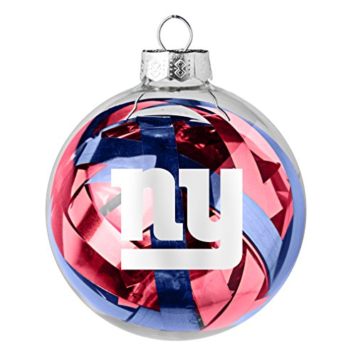 NFL New York GiantsTinsel Ball Ornament