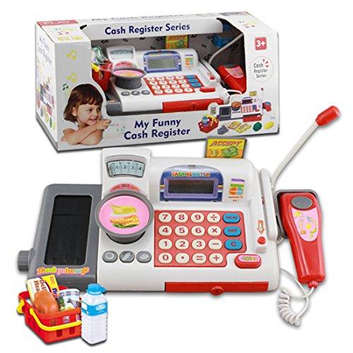 UniM Kids Cash Register Toy Children Educational Cash Register Toy (First Cash Register)