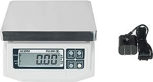 VisionTechShop ACOM APW-200 Digital Portion Control Scale, Lb/Oz/Kg/g Switchable, Low Profile Design, 30lb Capacity, 0.01lb Readability, Single Display, NTEP Legal for Trade