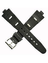 Rubber Watch Replacement Band Strap Fits Bvlgari Bulgari Aluminum, Diagono, Scuba Mens Watch