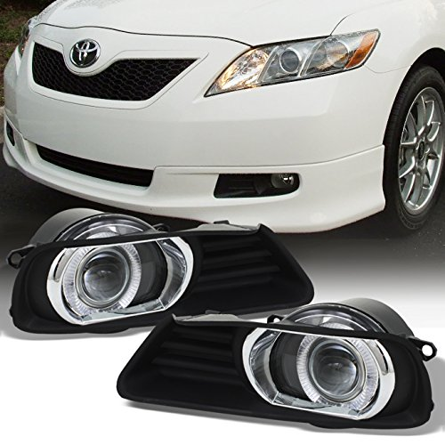compare price to 2007 toyota camry fog lights halo. Black Bedroom Furniture Sets. Home Design Ideas