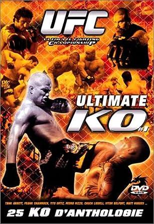 Amazon com: UFC - Ultimate KO - Vol 1 [DVD] (2003) Chuck
