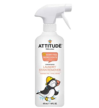 ATTITUDE Little Ones, Spray quitamanchas para la colada ...