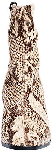 Tamaris 25007, Botines para Mujer Marrón (CREAM SNAKE 491)