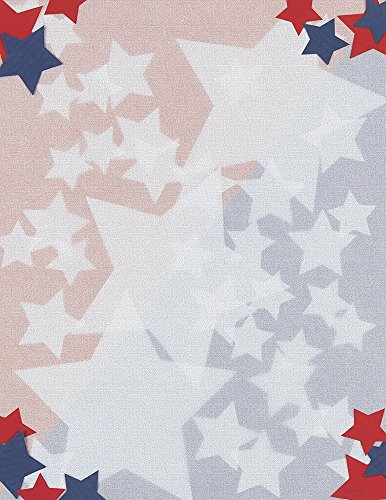 Great Papers! Stars Letterhead, 80 Count, 8.5