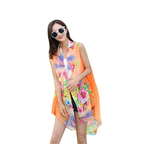 VENMO Mujeres Multi-Funcional de Gasa Ropa Solar Bufandas Abrigo Dama Chal Verano Playa Camiseta Tops