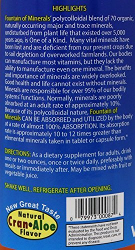 Vitol Colloidal Fountain Of Minerals, 32oz Bottle