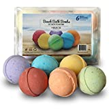 Best Bath Bombs - Bath Bombs Gift Set of 6, Beach Scents Review
