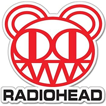 valstick Radiohead Crying Band Car Bumper Sticker Decal