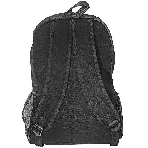 Luxburg® Design Rucksack für Schule, Sport, Freizeit, Reisen. Verschiedene Designs! Weißer Tiger