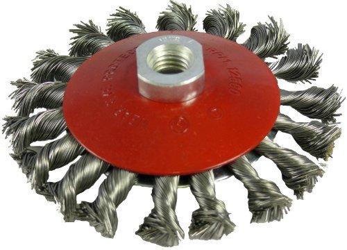Abracs 100mm x M14 Twist Knot Bevelled Wire Brush by ABRACS