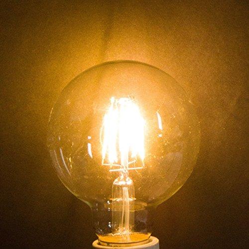 Led Edison Vintage Vanity Globe Filament G25 G80 4w