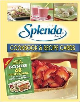 Splenda cookbook recipe cards editors of favorite brand name splenda cookbook recipe cards editors of favorite brand name recipes amazon books forumfinder Images