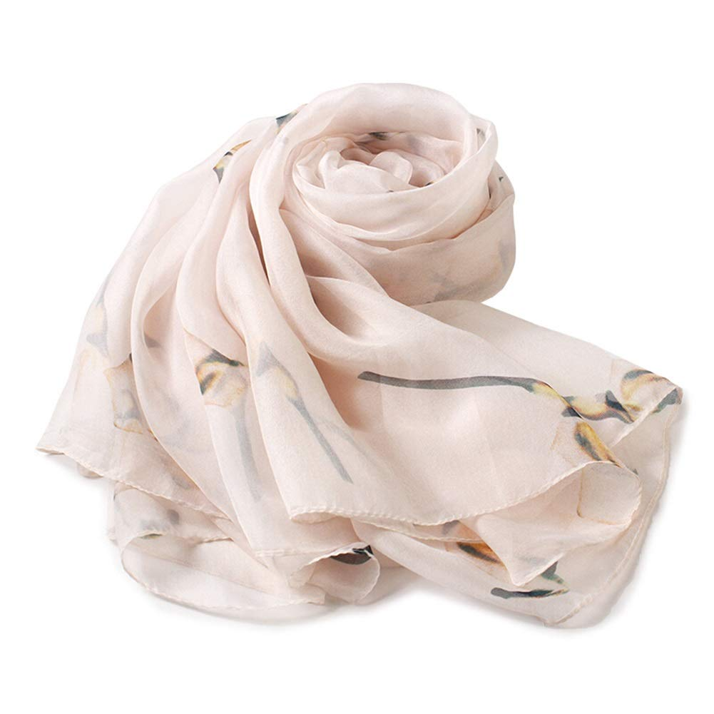 8 Long Scarves Wrap Shawl Long Stole Thick Style Scarf Headscarf Neck Wrap Stole MufflerSilk Spring, Summer and Autumn Shawl Shawl Dual Purpose HENGXIAO (color    2, Size   175  110cm)