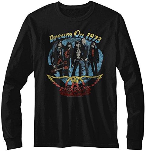 À Sur T Manches Rêve Longues Aerosmith D'homme Black shirt Un FaHTSZx