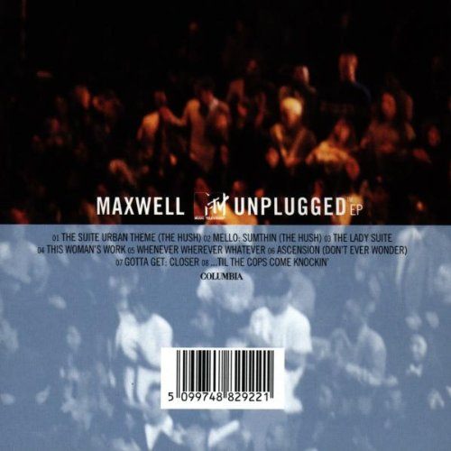 Maxwell MTV Unplugged EP by Columbia