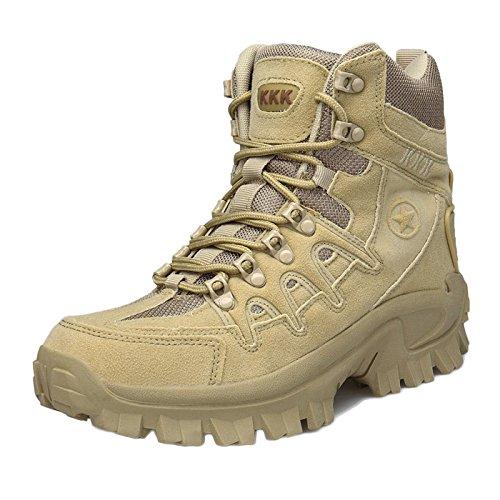 Militari Tattici Da E Trekking Esterni Yellow Alte Asjunq Scarpe Leggere Impermeabili Stivali Per Uomo vxw4PT